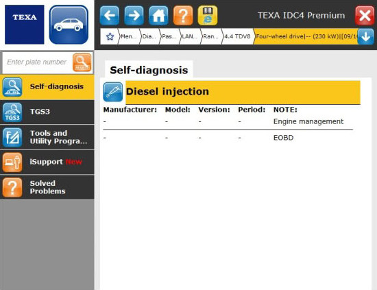 Texa IDC4 Car Version 52 software available now - Eclipse Automotive